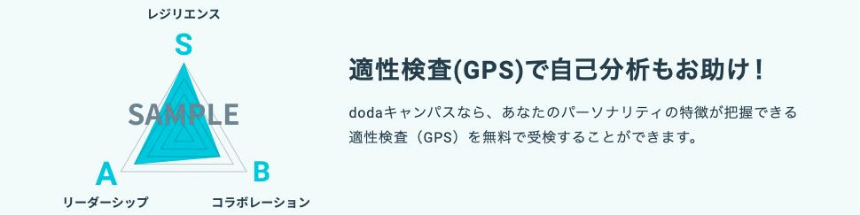 dodaキャンパス 適性検査