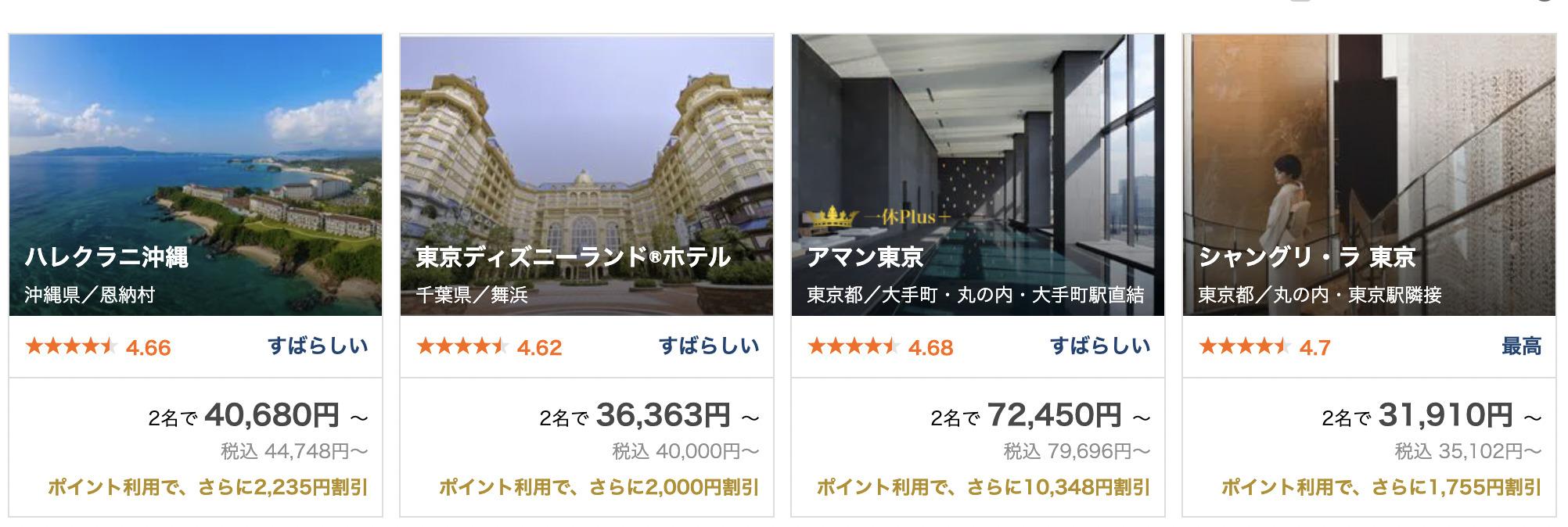 一休.com 高級ホテル